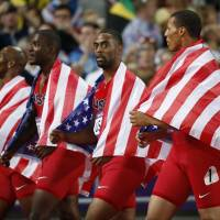 U.S. relay team to lose London silver medals