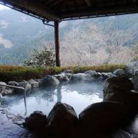 A view from the hotel's mountaintop spa | MANDY BARTOK