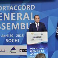 Firm stance: Marius Vizer, the SportAccord president, says his criticism of the IOC is necessary to spark change. | SPORTACCORD
