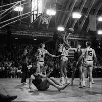 Future pro: Bob Nash takes a shot in the U.S. Olympic development team's game against Estonia in 1970. Nash was the No. 9 overall pick in the 1972 NBA Draft.   GUNNAR VAIDLA/ESTONIAN SPORTS MUSEUM