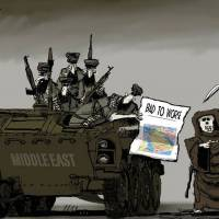Escaping the Mideast's quagmire of violence