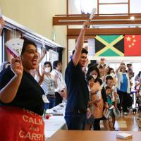 Foreign volunteers in Tokyo and Tottori bring cheer to Fukushima children's homes
