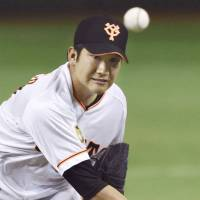 Triumphant Giants stage seventh-inning comeback against Carp
