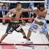 Uchiyama defends title with patented KO