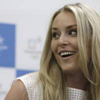 Vonn named honorary ambassador for Pyeongchang Olympics