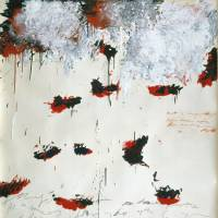 'Petals of Fire' (1989) | © CY TWOMBLY FOUNDATION, COURTESY OF CY TWOMBLY FOUNDATION