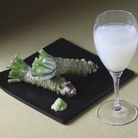 The 'Sabini' original sake cocktail features the fresh flavor of wasabi (horseradish) that is native to Japan. | SAKE ON THE TABLE