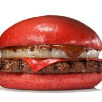 Burger King unveils red-colored burgers