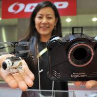 Wearables, drones, talking robots take center stage at International Tokyo Toy Show