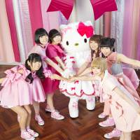 Dempagumi.inc mew-ves into the world of Hello Kitty