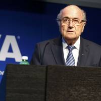 Sepp Blatter to step down as FIFA president