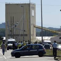 One decapitated in suspected terrorist attack on U.S. factory in France
