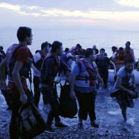 Refugee crisis prompts Greek Coast Guard to search seas nightly