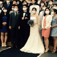 Wedding photo becomes symbol of South Korean MERS scare