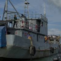 Myanmar navy holds migrant boat in limbo, blocks journalists from gaining access