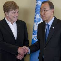 Paris talks may be 'last chance' to reach deal to fix climate: Robert Redford to U.N.