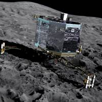 Rosetta mission extended till September '16, possibly ending by spiraling down to comet