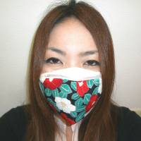 A woman wears a Pittarich mask produced by Nippon Clever Co. that is in demand following the Middle East respiratory syndrome outbreak in South Korea. | COURTESY OF NIPPON CLEVER CO.