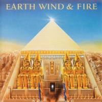 The cover of Earth, Wind & Fire's 'All 'N All' album is one of the works created by artist Shusei Nagaoka, whose death was disclosed on Saturday. | SONY MUSIC JAPAN INTERNATIONAL/KYODO