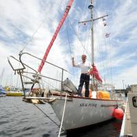 Canadian sailor has Japan solo circumnavigation in sight