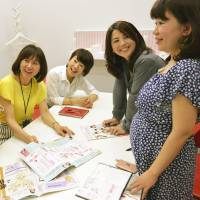 An increasing number of firms nationwide have been trying to tap the ideas of pregnant women in recent times. | KYODO