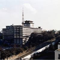 View from above: Hotel Okura Tokyo soon after its opening in 1962 | COURTESY OF HOTEL OKURA TOKYO