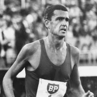 Australia's Ron Clarke, seen here running in Europe during the 1960s, set 17 world records during his career and earned the bronze medal in the 10,000 meters at the 1964 Tokyo Olympics. | PHOTO COURTESY OF TRACK & FIELD NEWS (USA).