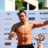 Swimmer Shinri Shioura, a bronze medalist at the 2013 world chamionships, is training in Italy, near Naples under the direction of Andrea Di Nino, who runs the ADN Swim Project. | ADN SWIM PROJECT