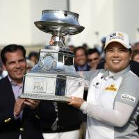 Park captures third consecutive title at Women's PGA; Yokomine 13th
