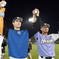 Otani strikes out 11 in shutout as Fighters end losing streak