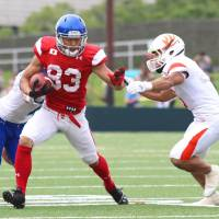 Kurihara aims high for national team, NFL aspirations