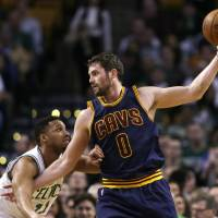 Injured Love expects to be back in Cleveland next season
