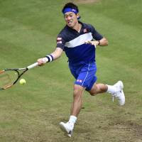 Nishikori confident of fitness for Wimbledon after calf injury
