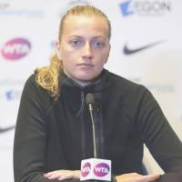 Top seed Kvitova withdraws from Eastbourne