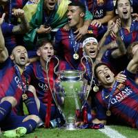 Barcelona cruises past Juventus to claim Champions League title