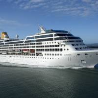 This undated file photo provided by Carnival Corp. shows the 710-passenger ship Adonia. Starting in May 2016, Carnival Corp. plans to offer trips from Miami to Cuba, the company announced Tuesday. | CARNIVAL CORPORATION VIA AP, FILE
