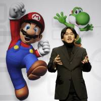 In this July 15, 2008, file photo, Satoru Iwata, President and CEO of Nintendo Co. Ltd., speaks at a news conference where Nintendo unveiled an enhancement for its Wii Remote controller and new games at the E3 Media and Business Summit in Los Angeles.  Nintendo said President Iwata died Saturday of a bile duct tumor in a Kyoto hospital. | AP