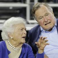 Hospital discharges ex-President George H.W. Bush, 91, after fall breaks neck bone
