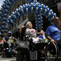 Big Apple stages its first disability pride parade