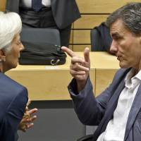 Disagreements emerge among Greece's European creditors