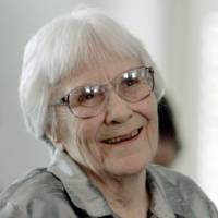 Author Harper Lee smiles during a ceremony honoring the four new members of the Alabama Academy of Honor at the Capitol in Montgomery on Aug. 20, 2007. | AP