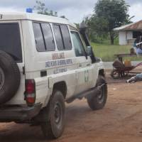 Liberia finds second Ebola case; health workers protest for hazard pay