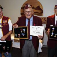 Long-delayed medals given to Colorado WWII POWs