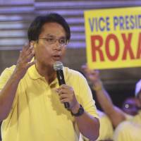 Philippines' Aquino names Roxas as preferred successor in 2016