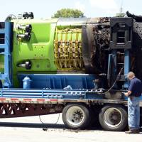 Truck fire in Connecticut scorches famed Deepsea Challenger sub