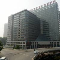 The First Affiliated Hospital of Zhengzhou University is seen in China's Henan province on July 4.   REUTERS
