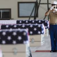 Group brings home remains of unidentified U.S. Marines from Tarawa