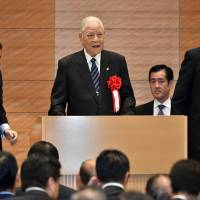 Ex-Taiwan President Lee, 92, gives first speech on Diet premises, hits Taipei power grab