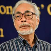 Famed director Miyazaki calls Abe's move to revise Constitution 'despicable'