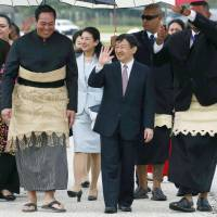 Crown Princess Masako unexpectedly joins meeting with Japanese in Tonga